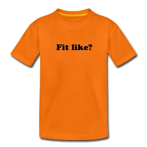 Fit Like? Nae bad! teenage T-shirt - Teenage Premium T-Shirt