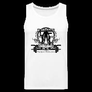 Sports wear ~ Men's Premium Tank Top ~ Swole Crew Black Tank