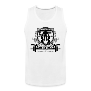 Swole Crew Black Tank - Men's Premium Tank Top
