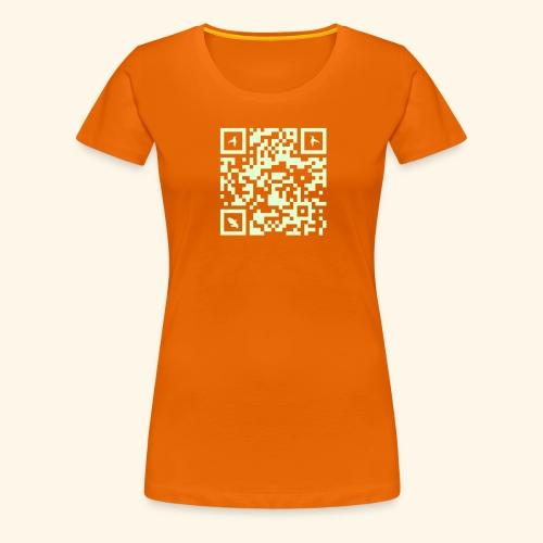 MARTINIQUE QR CODE COLIBRI - T-shirt Premium Femme