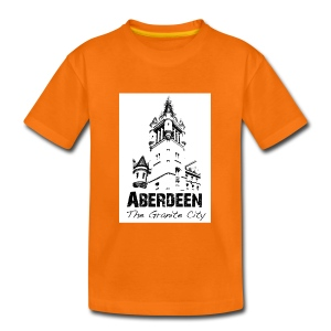 Aberdeen - the Granite City kid's T-shirt - Kids' Premium T-Shirt