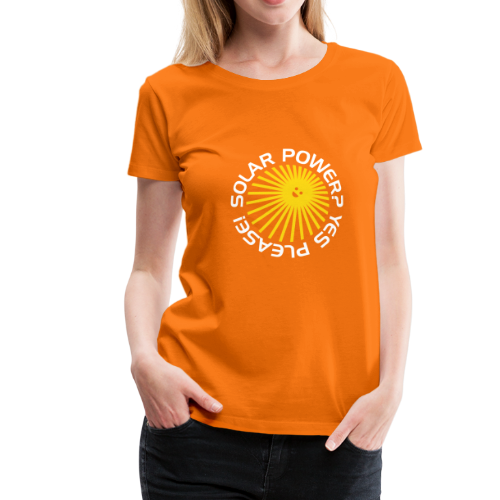BD Solar Power Girls Tshirt - Frauen Premium T-Shirt