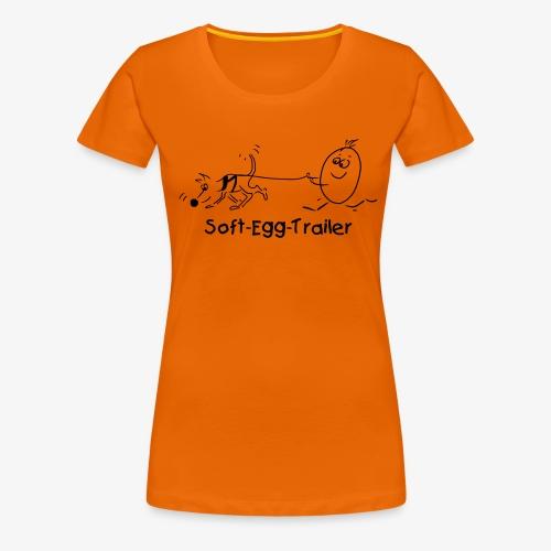 Mantrailer - Frauen Premium T-Shirt