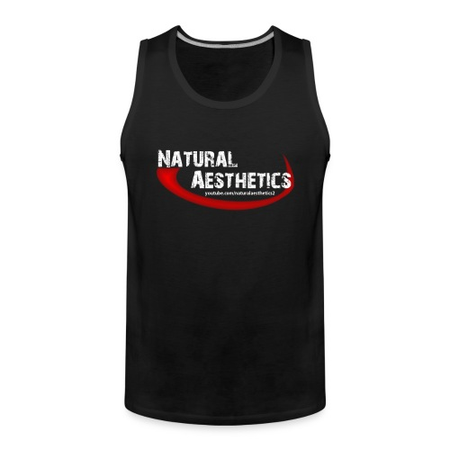 Men - Drug Free Athlete Muscle Shirt - Männer Premium Tank Top