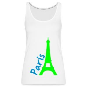 paris - Women's Premium Tank Top