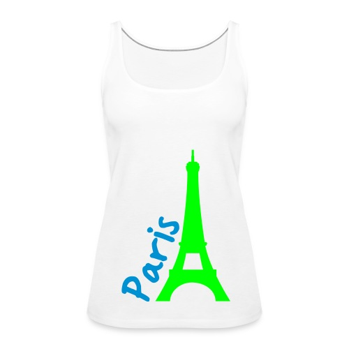 paris - Women's Premium Tank Top