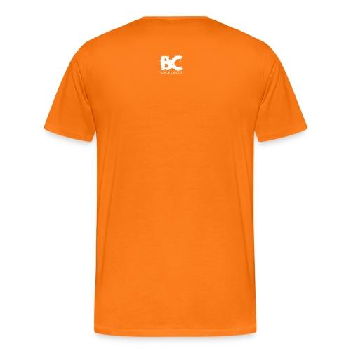 BC-Shirt Logo front blue, Logo back white - Männer Premium T-Shirt