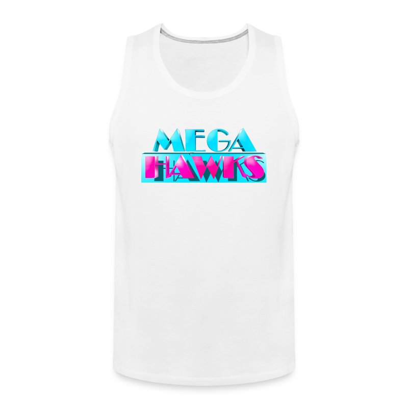 MegaHAWKS - Tanked top - Men's Premium Tank Top