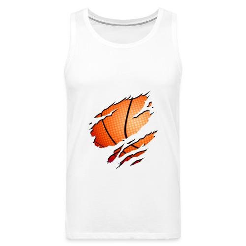 il basket sotto pelle - Canotta premium da uomo
