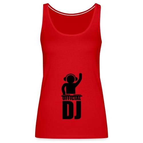 official dj - Women's Premium Tank Top