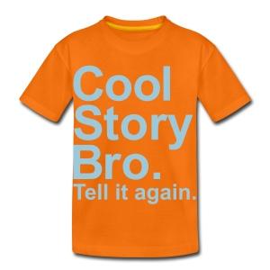Cool story - Kids' Premium T-Shirt