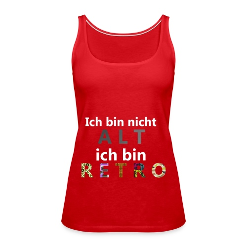 Retro Damen - Frauen Premium Tank Top