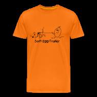 T-Shirts ~ Männer Premium T-Shirt ~ Soft-Egg-Trailer (Weicheitrailer)