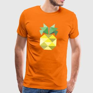 Orange  Tee shirts - T-shirt Premium Homme