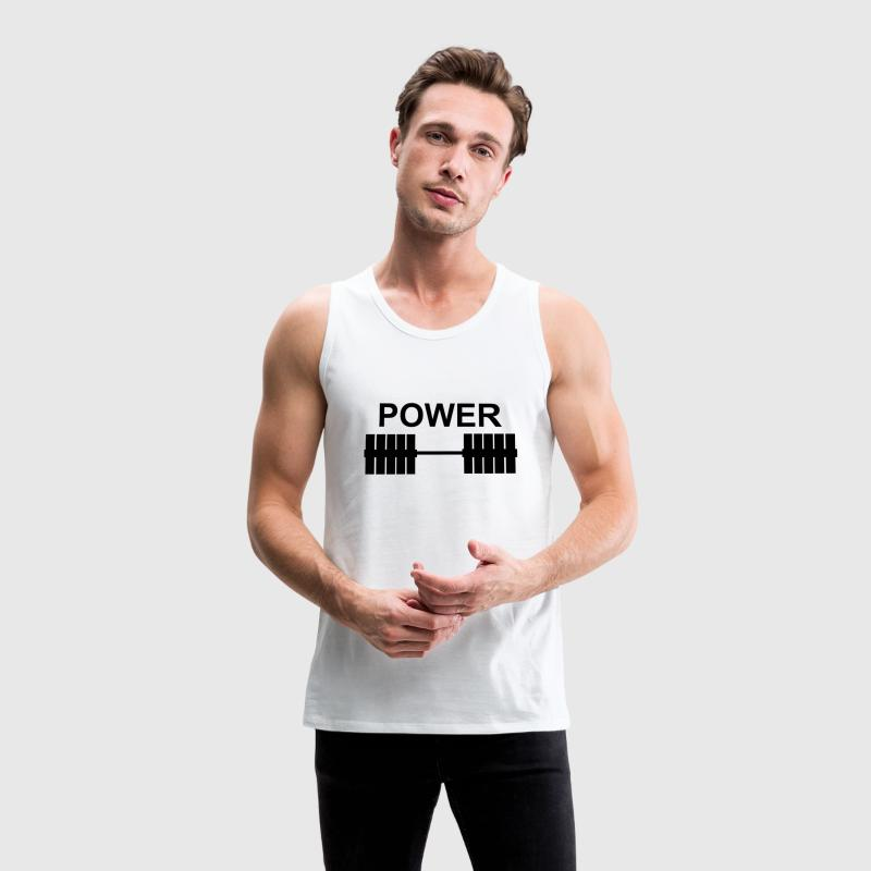 Power - Men's Premium Tank Top