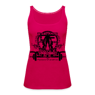 Tops ~ Women's Premium Tank Top ~ WOMENS Swole Crew Black Tank