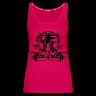 Tops ~ Women's Premium Tank Top ~ WOMENS Swole Crew Black Tank