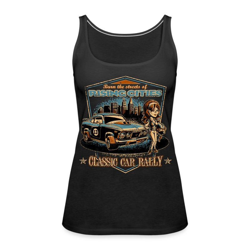 Classic Car Rally Event - Frauen Premium Tank Top