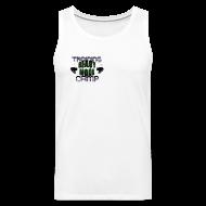 Sports wear ~ Men's Premium Tank Top ~ Do You Even Lift Hippie Black TANK
