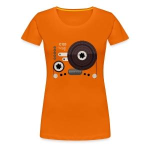 Tape parts: C120 - Women's Premium T-Shirt