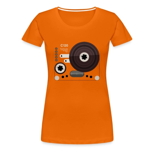 Tape parts: C120 - Women's Premium T-Shirt
