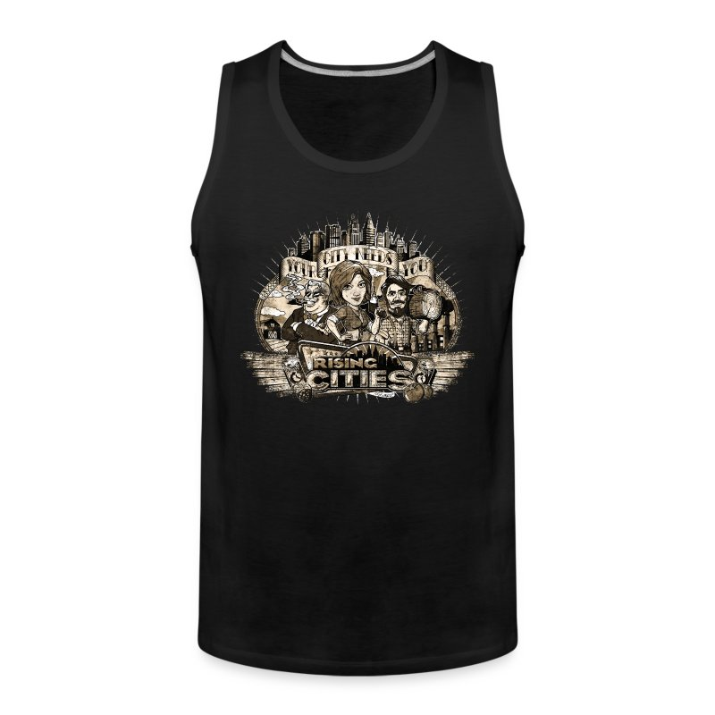 Your City Needs You - Männer Premium Tank Top