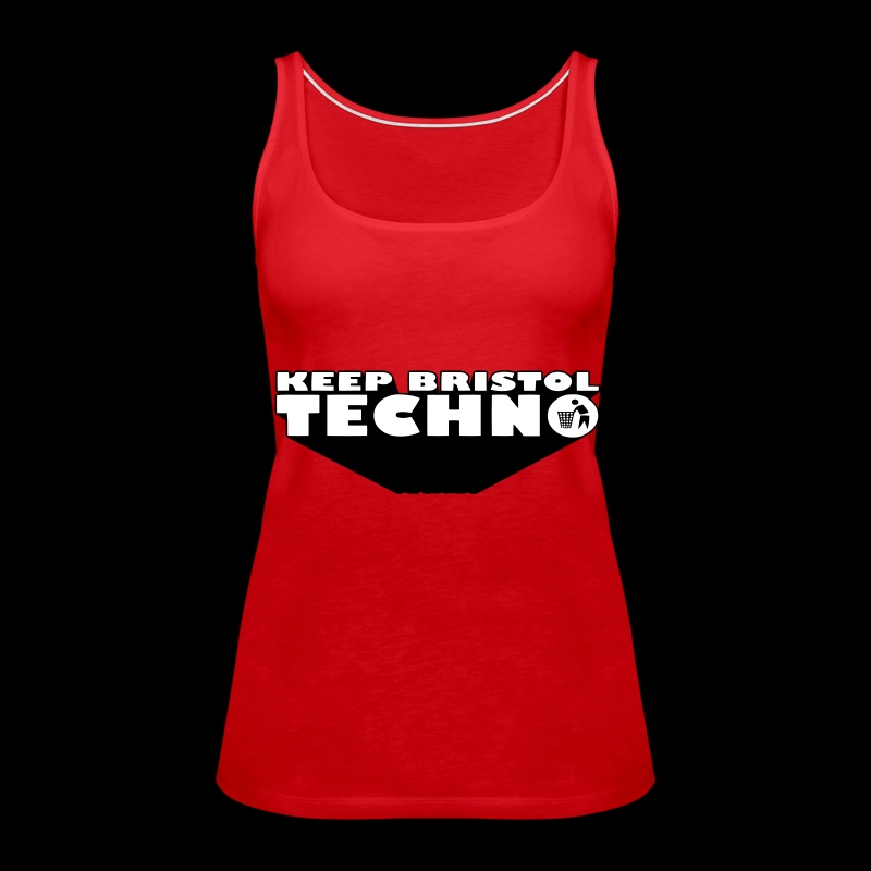 KBT GIRLS VEST - Women's Premium Tank Top