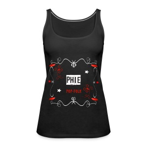 Top for Gilrs Phie - Women's Premium Tank Top