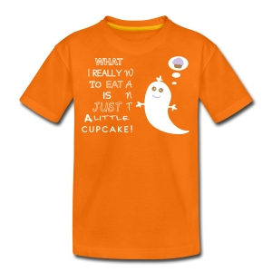 Want Cupcake - Teenager Premium T-Shirt