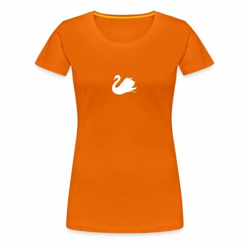 Schwan - Frauen Premium T-Shirt