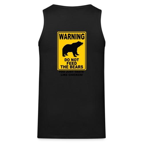 débardeur logo Grrrnoble bear association - Débardeur Premium Homme