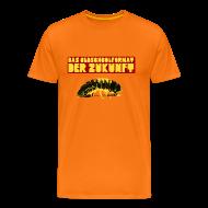 T-Shirts ~ Männer Premium T-Shirt ~ DAS OLDSCHOOLFORMAT DER ZUKUNFT