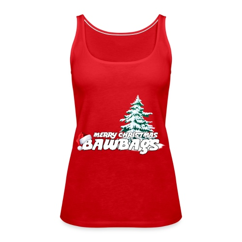 Merry Christmas Bawbags - Women's Premium Tank Top