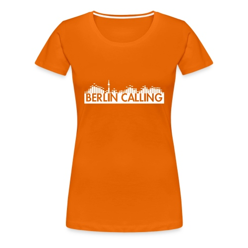 Frauen Premium T-Shirt - Official Product of the Berlin Calling Motive from Paul Kalkbrenner.