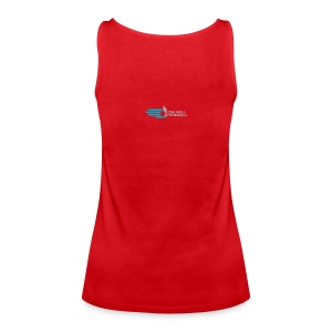 Dames Tanktop met Logo One Wall Handball -rood - Vrouwen Premium tank top