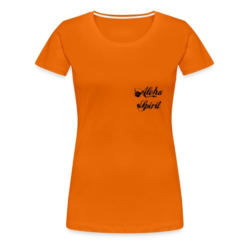 Tee shirt Femme, American Apparel Aloha - T-shirt Premium Femme