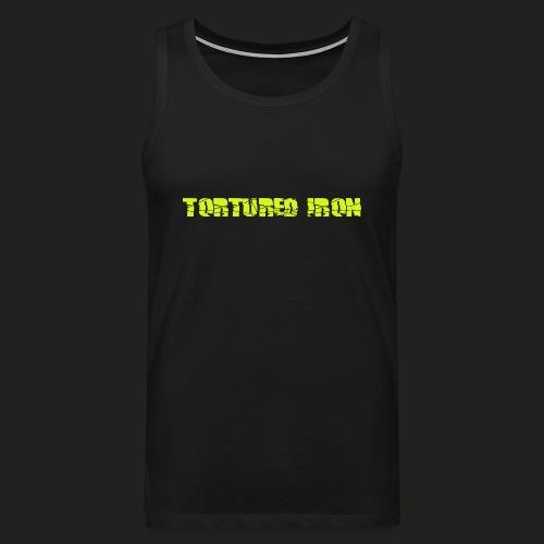 Men's Premium Tank Top - weightlifting,strongwomen,strongmen,strongman,strong,steroids,squat,powerlifting,powerlifters,muscle,lifting,lift,gymwear,gym,getbig,gainz,gains,deadlift,crossfit,bodybuilding,bodybuilders,benchpress,beard