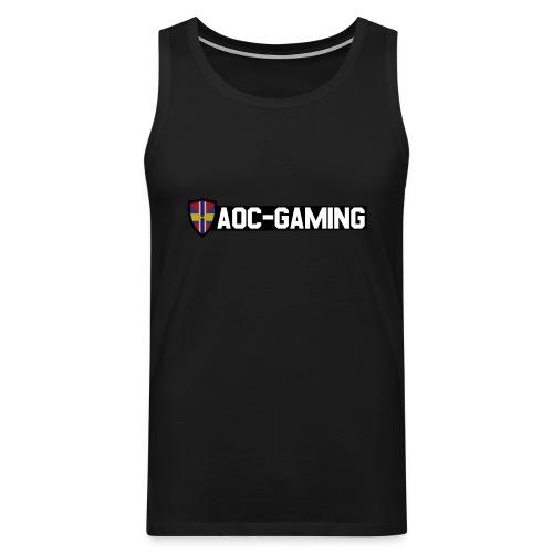 AOC-Gaming Ftiness - Premiumtanktopp herr