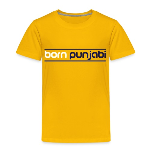 Orange Kid's Born Punjabi - Kids' Premium T-Shirt