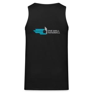 Muscle Shirt met logo One Wall Handball - Mannen Premium tank top
