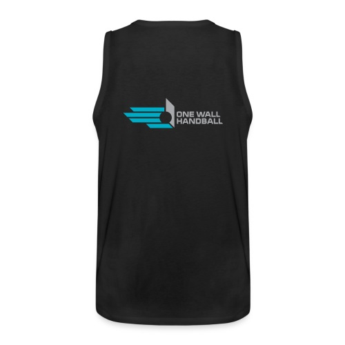 Muscle Shirt met logo One Wall Handball - Mannen Premium tank top