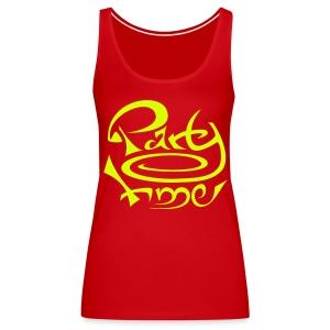 Tshirt Dos Nageur Women Original One Yellow - Débardeur Premium Femme