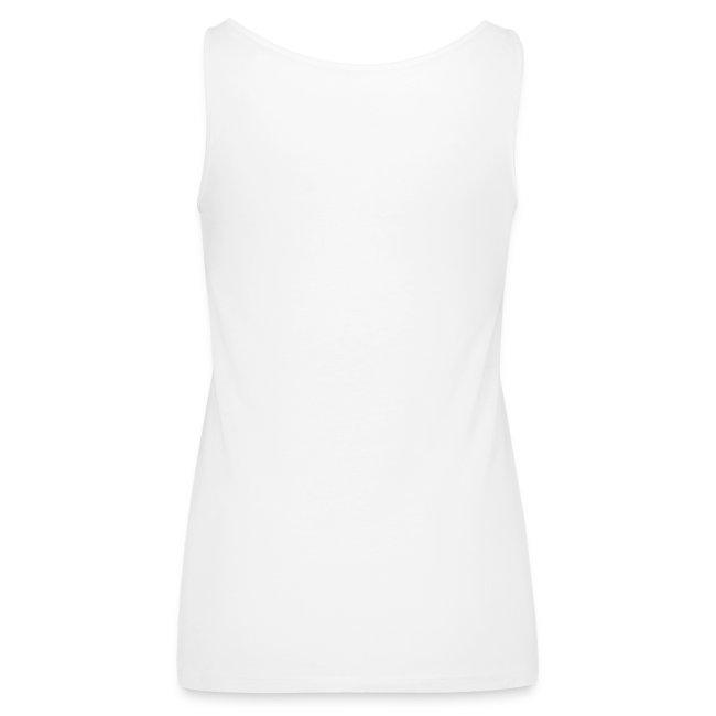 T-shirt para mulher que mostra os ombros com consciência social