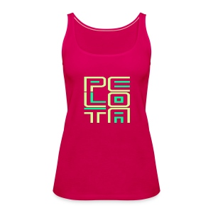 Pelota Soft Tone - Vrouwen Premium tank top