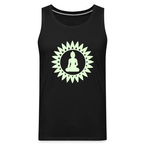 Buddha - Glow In The Dark - Tank Top - Männer Premium Tank Top