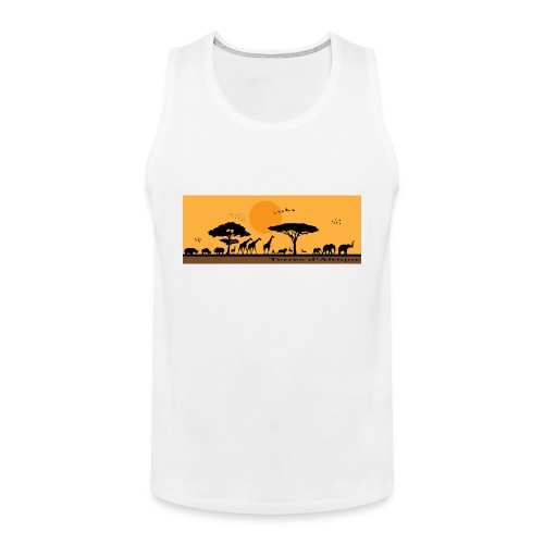 T-Shirt Terres d'Afrique 1 - Débardeur Premium Homme