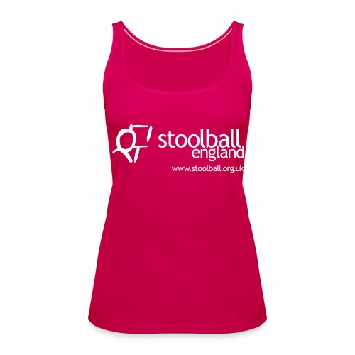 Stoolball England Women's Tank Top - Women's Premium Tank Top