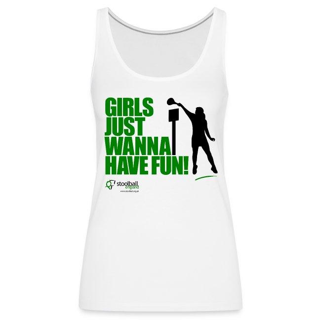 Girls Just Wanna Have Fun Tank Top