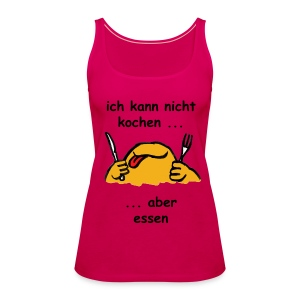 Women's Premium Tank Top - cool,essen,funny,kochen,lustig,monster,originell,sexy,t-shirt,witzig