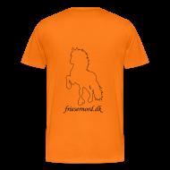 T-shirts ~ Herre premium T-shirt ~ Frieser Nord T-shirt Herre